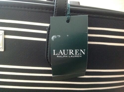 Vanilla New With 888188261396 Tags Lauren Tote Polo Bag Ralph Carry Bridgefoot Classic Black DYHe2W9IE