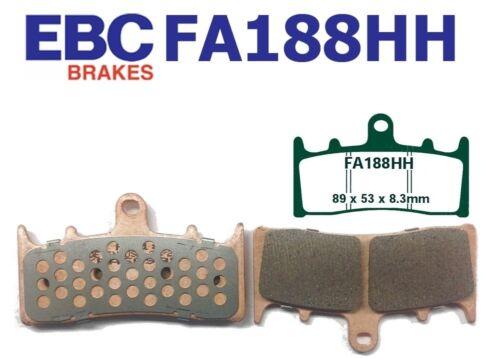 EBC plaquette de frein plaquettes de frein fa188hh avant suzuki GSXR 750 t//v//w//x 96-99