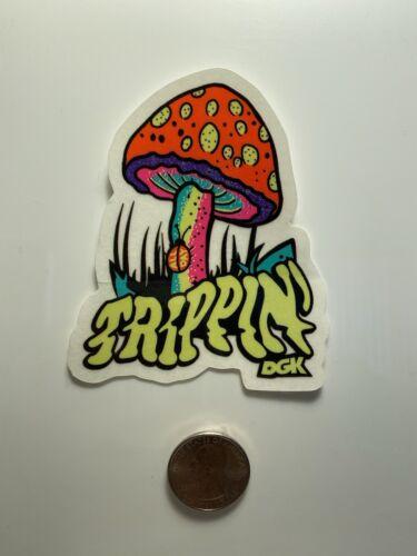 DGK Dirty Ghetto Kids Skateboard Decal Sticker Mushroom Trippin Stickers Skate