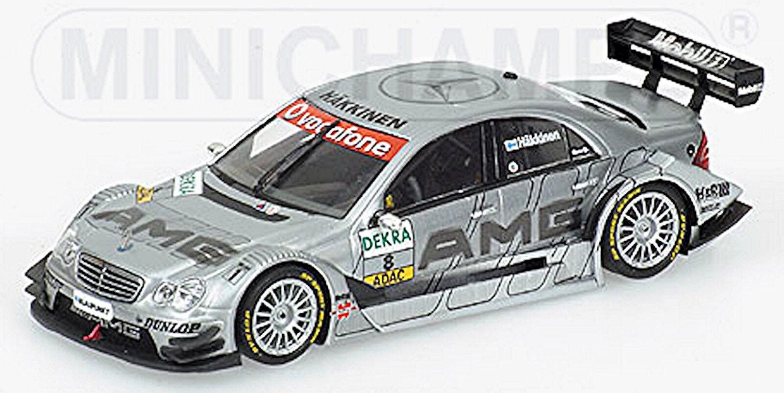 Mercedes C Classe  DTM 2006 Häkkinen  8 Équipe AMG 1 43 minichamps  approvisionnement direct des fabricants