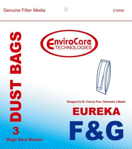 54 Bags Eureka F and G F and G Upright Vacuum Bags