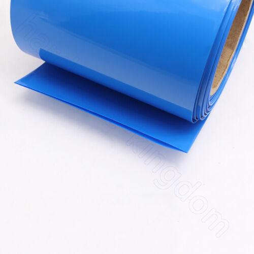 PVC Heat Shrink Tubing 350 mm Flat Wrap RC Battery NiMH NiCd LiPO Colour Select