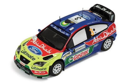 Ford Focus Rs WRC #3 Winner Jordan Rally Hirvonen/Lehtinen 1:43 Model