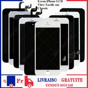 BLOC COMPLET VITRE TACTILE ECRAN LCD POUR IPHONE6 6S PLUS 7PLUS 8 NOIR/BLANC