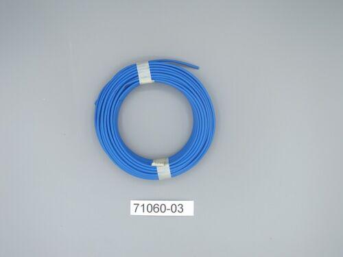 ,Märklin 71060-03 Kabel Querschnitt 0,75 mm2 blau  10m Grundpreis 0,46 E//1m