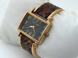 Betsey-Johnson-Ladies-Watch-Gold-Tone-Analog-Water-Resistant-Wrist-Watch