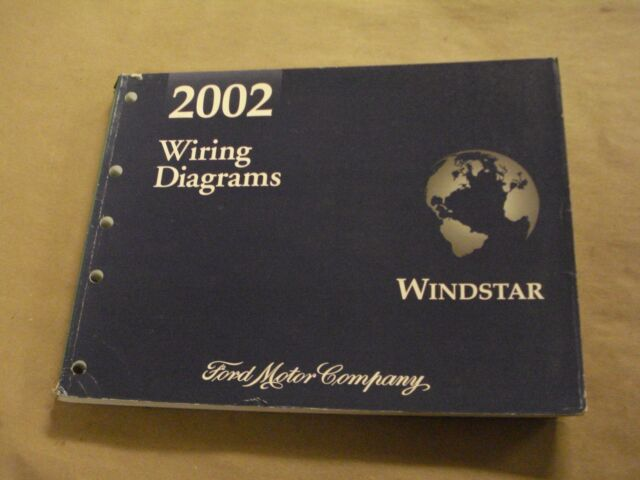 2002 Ford Windstar Workshop Service Manual Wiring Diagrams