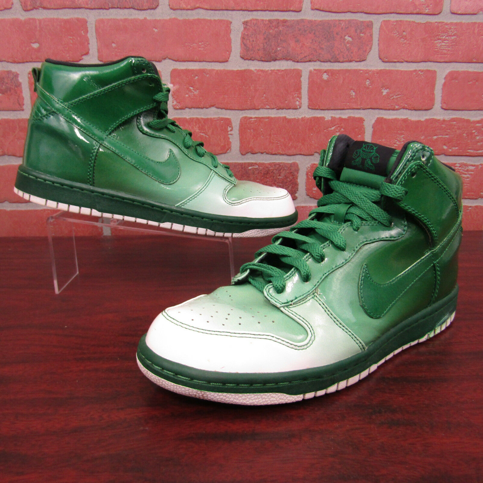 Great discount Nike Dunk Hi Supreme Spark Destroyers Mens Shoes Sz 9.5 Green 349710-131 S02G2