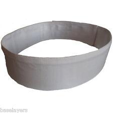 white canvas costume belt attach e11 blaster