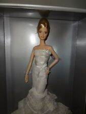 Vera Wang 'Romanticist' Bride Platinum Label Barbie Rare Only 999 Made!