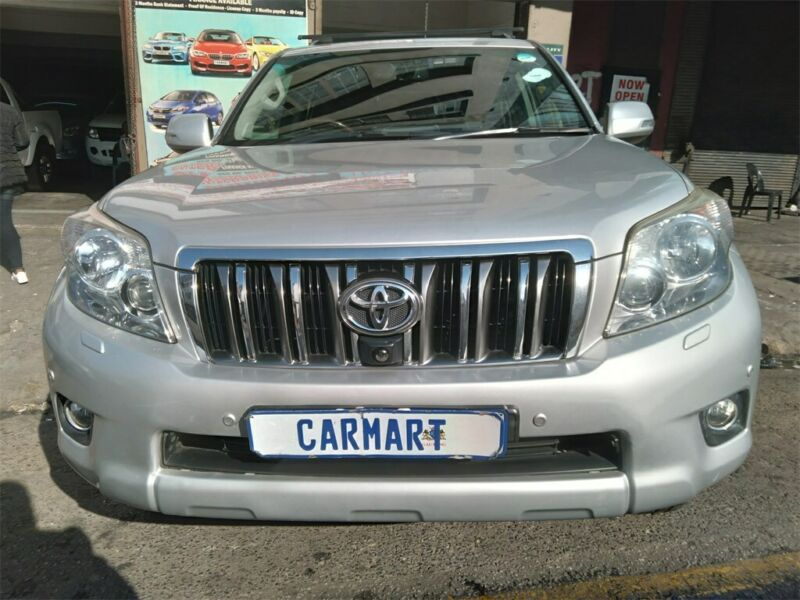 2012 Toyota Land Cruiser Prado 4.0 VX AT, Silver with 188000km available now!
