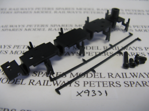 Hornby X9331 Class A4 Tender Chassis Bottom / Wheel Retainer