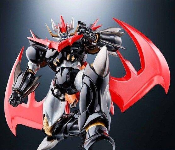 Nuevo Bandai Super Robot Chogokin Great mazinkizer cero de aleación Figura de Acción Japón