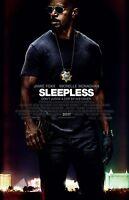 Sleepless Movie Poster - 11 X 17 Inches - Jamie Foxx