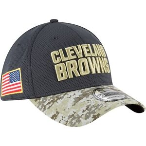 Image is loading CLEVELAND-BROWNS-New-Era-39THIRTY-Salute-To-Service- d9aaca9f3