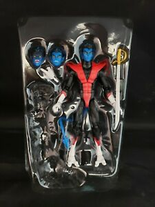 "Marvel Legends X-Men Nightcrawler 6"" Action Figure Loose Complete NO BAF Piece"