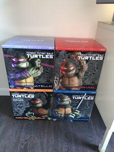 Playmates Cold Cast Teenage Mutant Ninja Turtles Statues