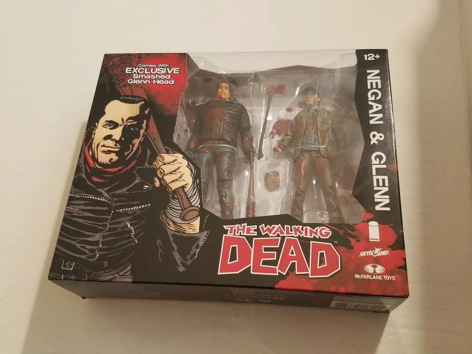 SDCC 2016 EXCLUSIVE WALKING DEAD NEGAN AND GLENN Farbe SET