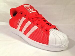 adidas superstar bianco rosse