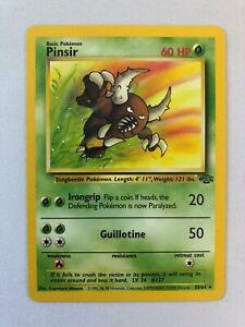 Pinsir 25//64 Jungle Set RARE Pokemon Card NEAR MINT