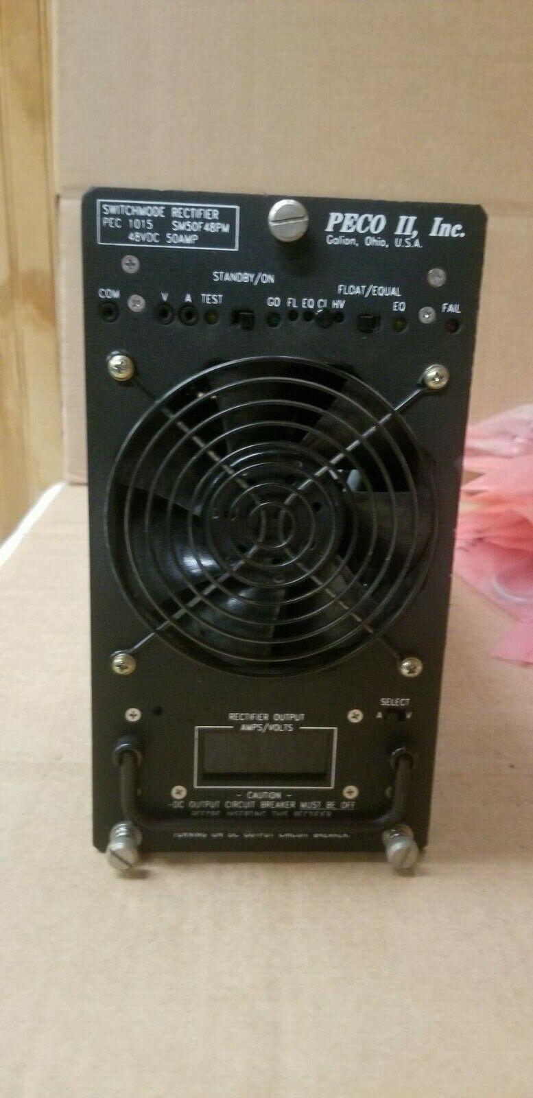 SM50F48PM-3 PECO II SWITCHMODE RECTIFIER 48 VDC 50 AMP