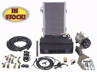 Complete Under Dash Heat Cool A/c Air Kit With Vertical Condenser - Eu1-v1-kit