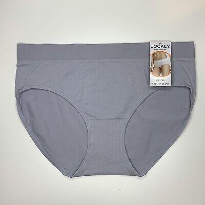Jockey Size 5 Purple Seamless Modern Micro Hipster Panties
