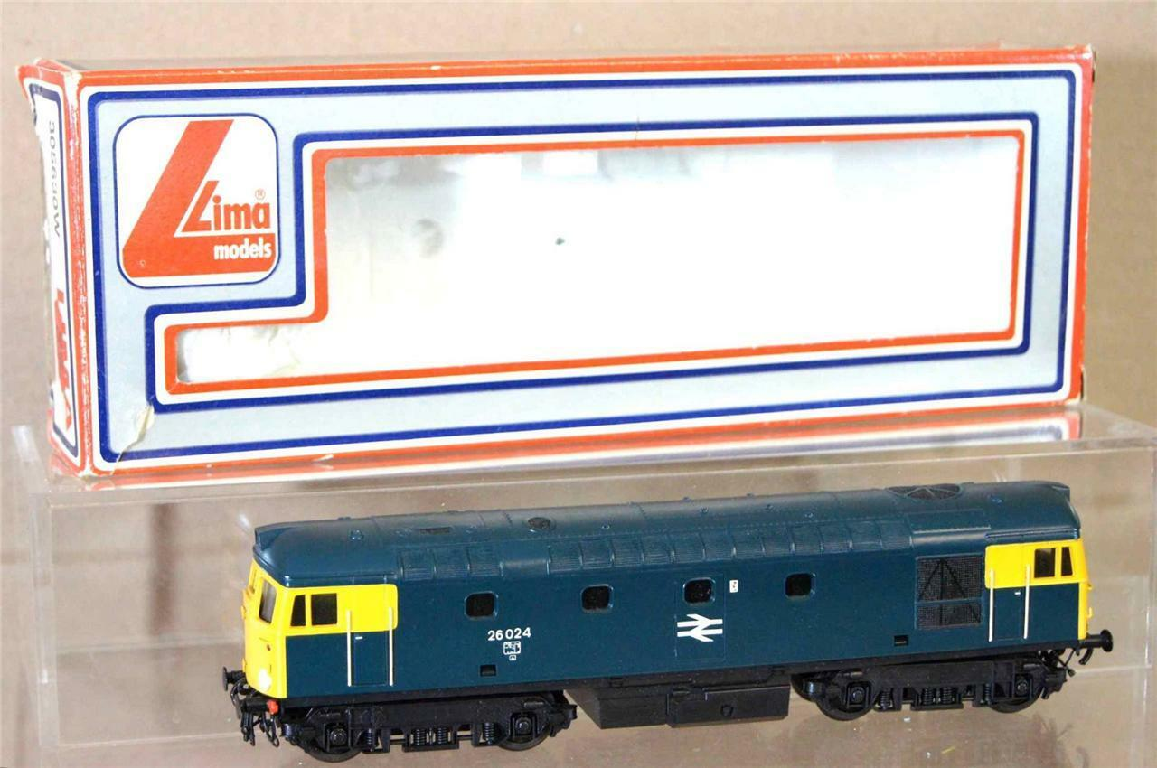 LIMA 5630 KIT BUILT BR BR BR blu CLASS 26 LOCO 26024 REPAINTED DETAILED mv 96e8b7