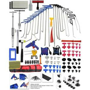 Car Paintless Dent Repair Puller Lifter Tool Rods Line Board Tail Removal Set US