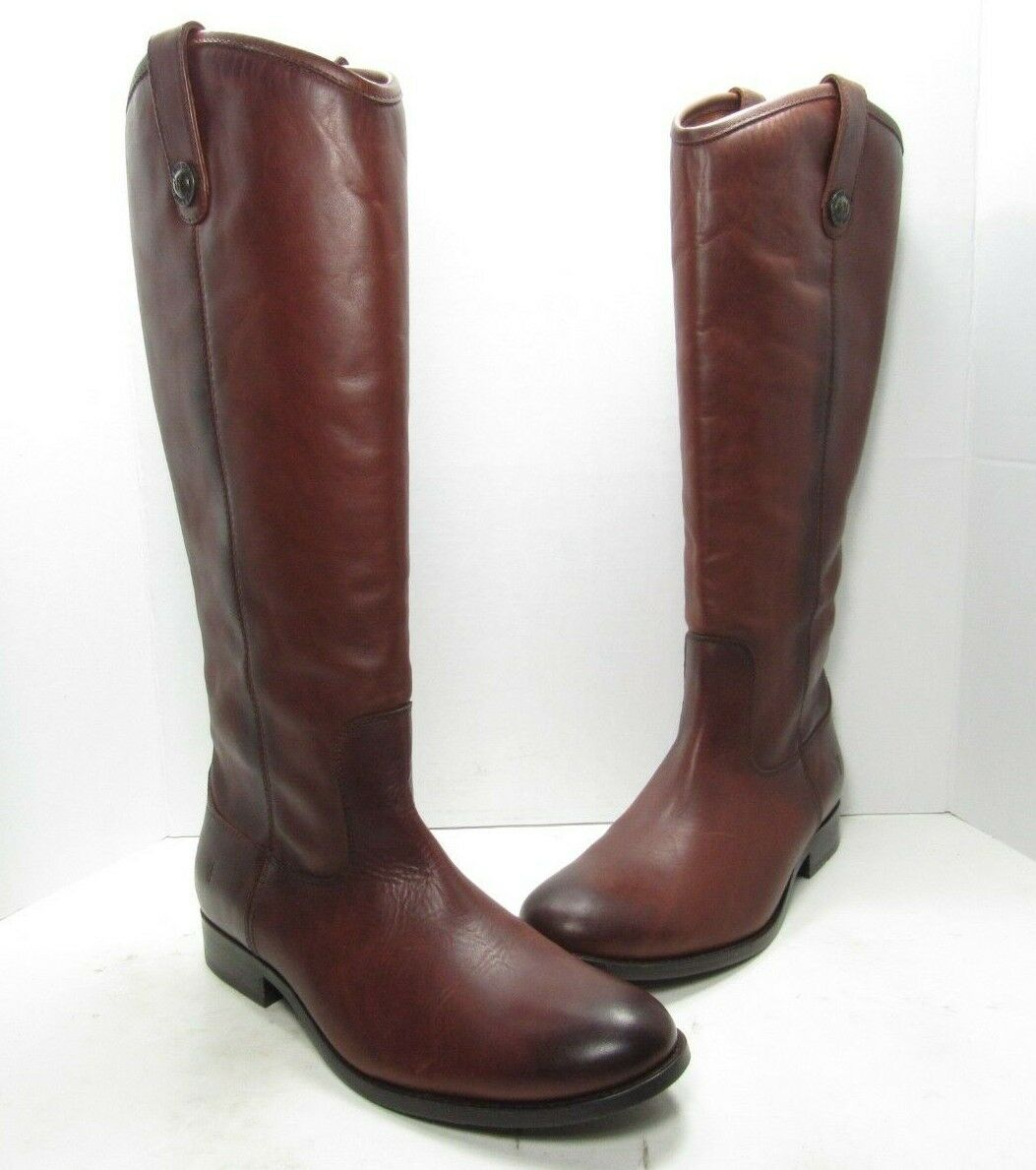 Frye Melissa Button 2 Fashion Boots, Women's Size 8.5 Medium (B628)
