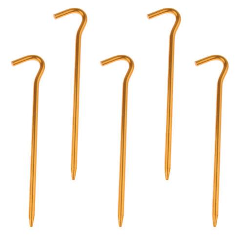 5 stücke Aluminium Zelt Stakes Pegs Ground Nails Für Camping Markise 18 cm
