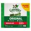 thumbnail 1 - Greenies Regular Dental Dog Treats. Medium size. Various pack