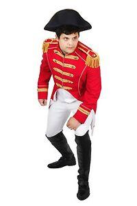 Uniforme-Carnevale-Teatro-Soldato-Napoleone-Giacca-Costume-di-Partito-Frock-TOP