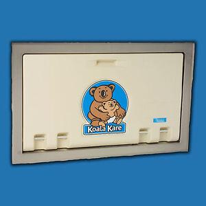 Koala Kare Kb100 00st Recessed Baby Changing Station Cream