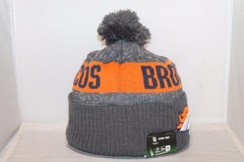 DENVER BRONCOS New Era Team Logo Winter Knit Beanie Hat Cap One Size Many Styles