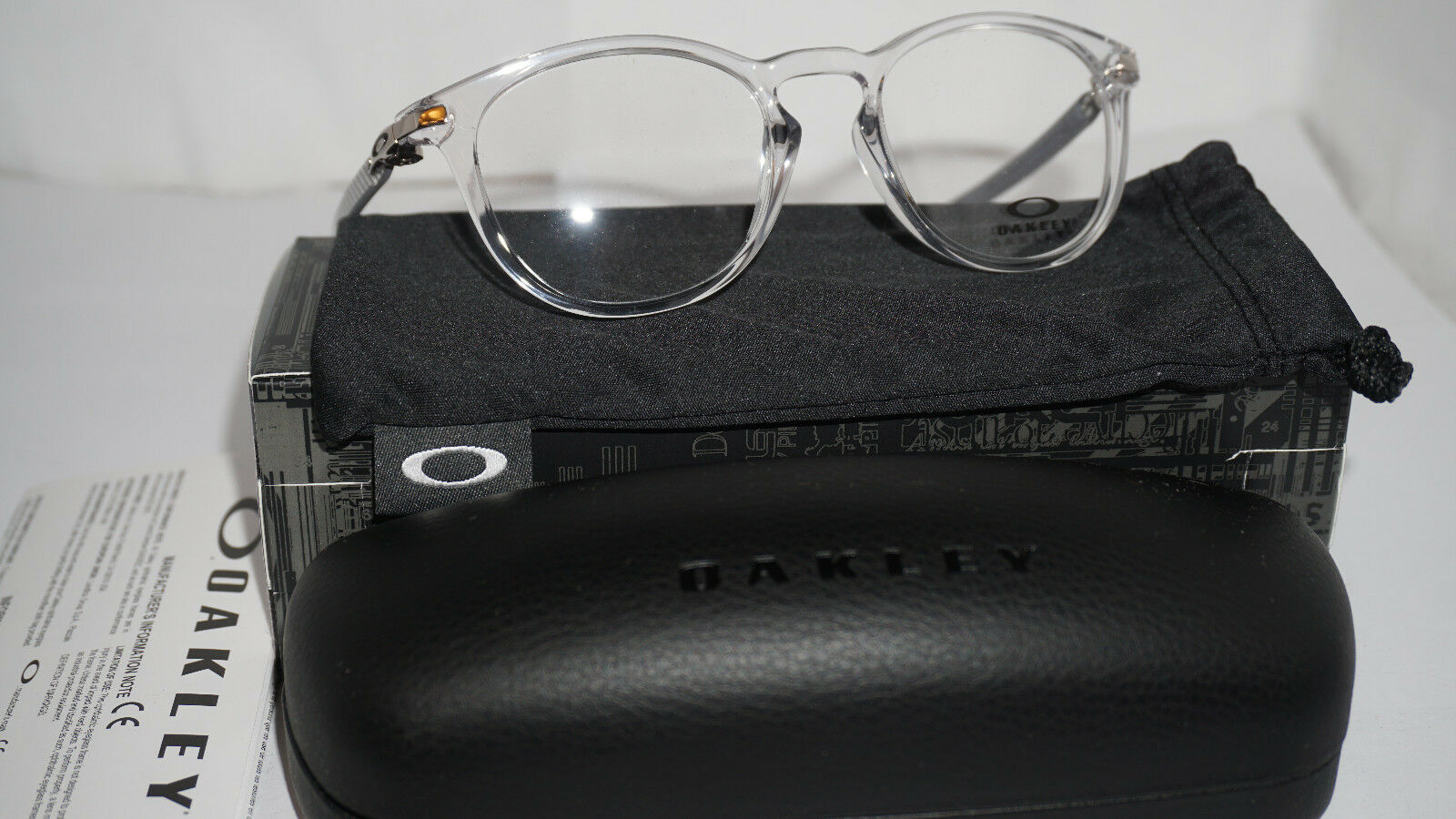 4c9e3971c0 Oakley Ox8149 Pitchman R Carbon 814903 Polished Clear Size 50 for sale  online