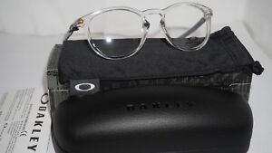 658a144d4d OAKLEY RX Eyeglasses New Oph Pitchman R Carbon (50) Polish Clr ...