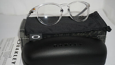 1b50b5bc6b301e OAKLEY RX Eyeglasses New Oph Pitchman R Carbon (50) Polish Clr OX8149-0350