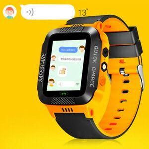 Niños SmartWatch GPS SOS Pulsera de seguimiento Pantalla táctil Multi + cámara