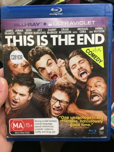 1 of 1 - This Is The End ex-rental blu ray (2013 Seth Rogen comedy movie)