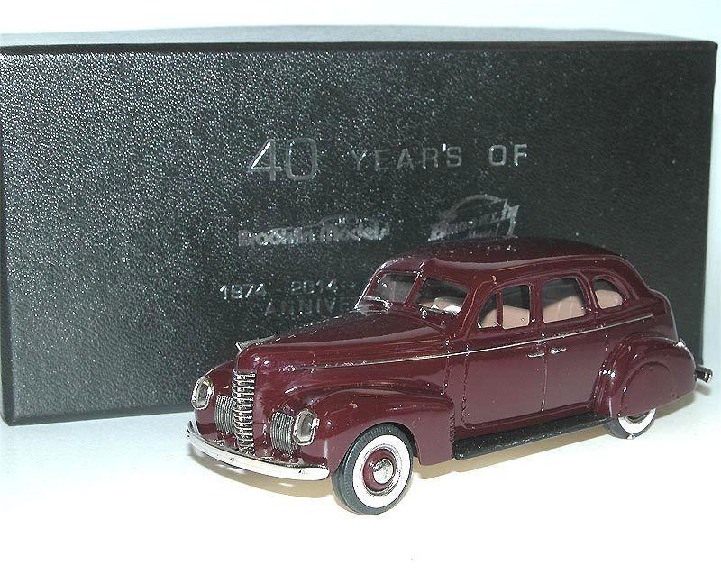 BROOKLIN BRK 187x 1939 Nash Ambassador Eight Anniversary Special Ruby rouge 1 43