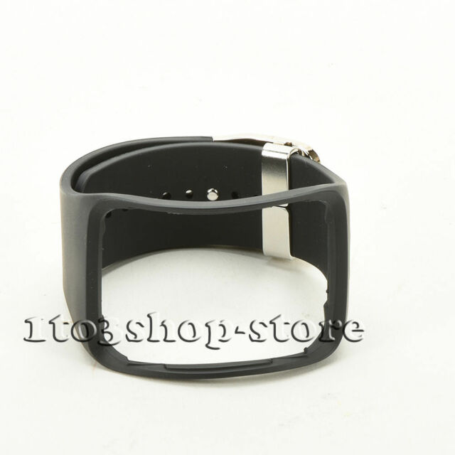 7d4ad10e226 Original Oem Samsung Galaxy Gear S R750 Watch Strap Bracelet Band String  Black