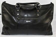 Mimco Splendiosa Black Weekender Travel Overnight Bag Expandable Authentic BNWT