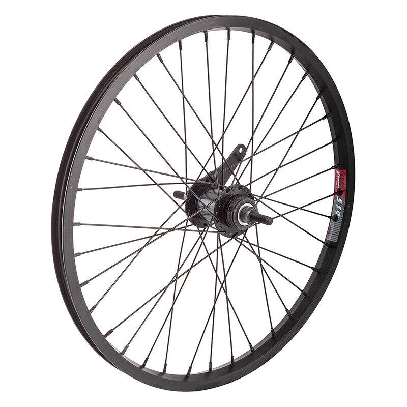 WM Wheel  Rear 20x1.75 406x19 Aly Bk 36 Kt Cb 110mm 14gbk W trim Kit