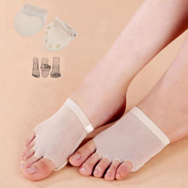 2pc Ball Of Foot Metatarsal Gel Pads Cushion Ballet Dance Half Lyrical shoes