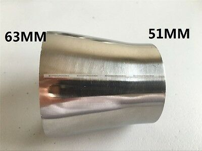 OD 19//25//38//51mm Sanitary Weld Reducer Pipe Fittings Stainless Steel 304