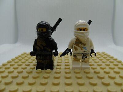 LEGO Ninjago White Ninja w// Black Sword Zane NEW