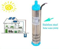DC Brushless Solar Water Pump 24V 3000L/H Submersible Pump/PV Fountain Pump