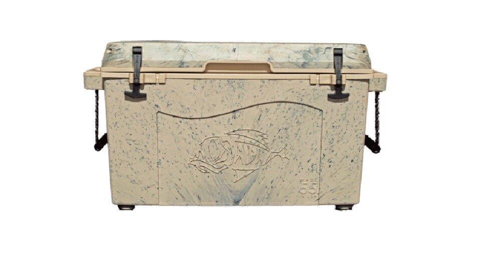 NEW Taiga Coolers Leak Proof 55 Quart Desert Camo Cooler with R5 Insulation