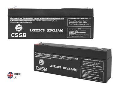 12v 2.3ah Lead-acid Battery Ce Hq 175x62x36mm Cssb High Quality GroßE Auswahl;